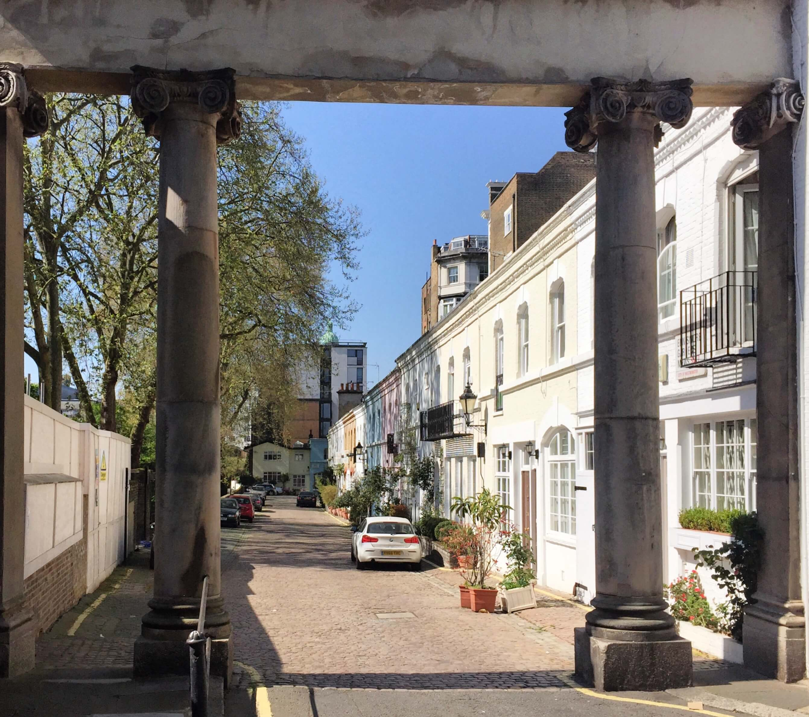 Ennismore Gardens Mews, South Kensington, London