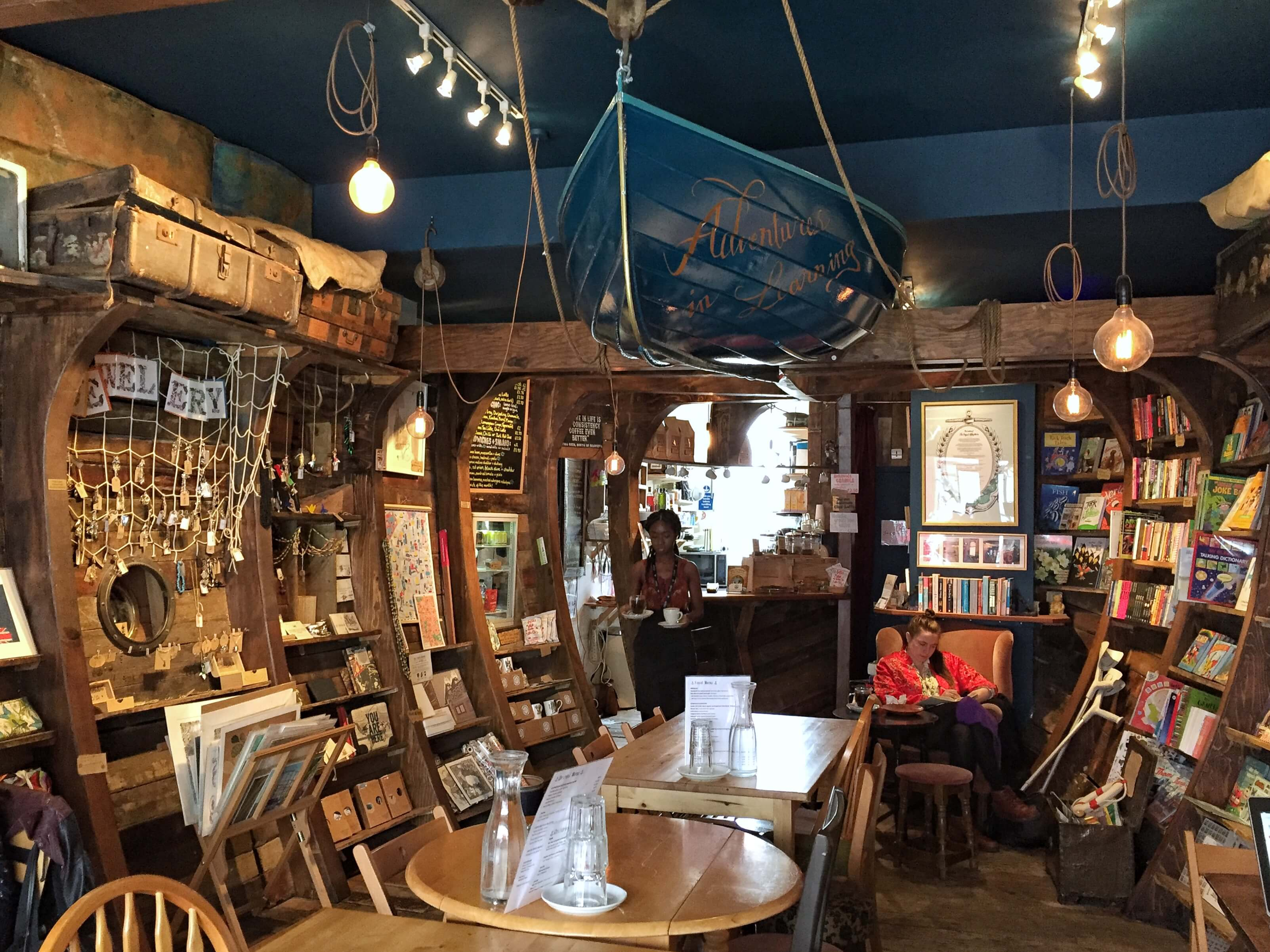London's prettiest cafes : The Ship of Adventures, Dalston, London