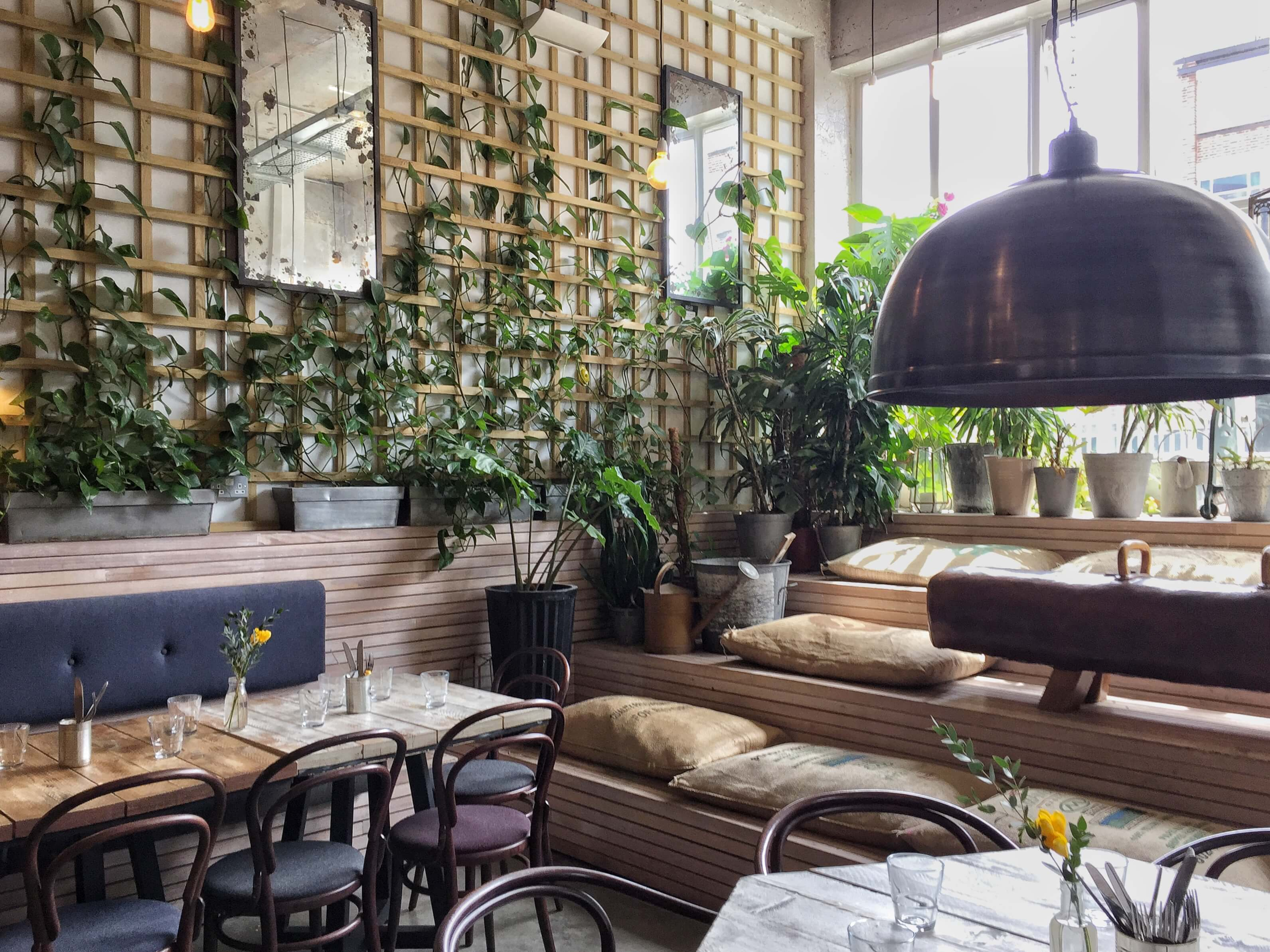 London's prettiest cafes : Wringer + Mangle, London Fields, London