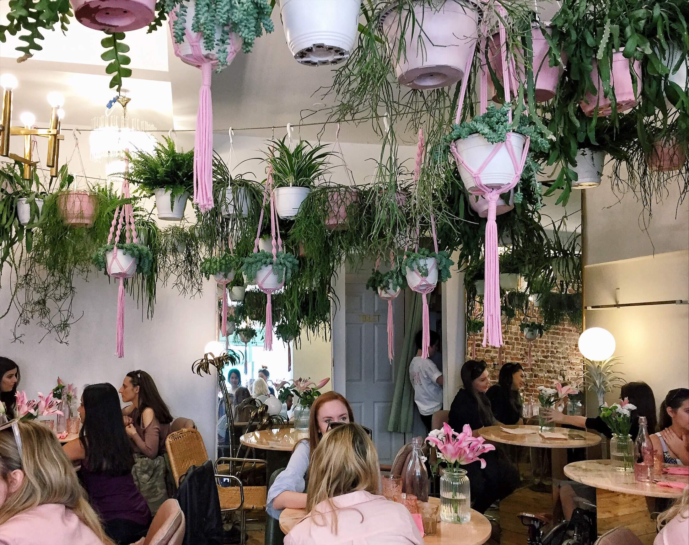 London's prettiest cafes : The Palm Vaults, Hackney, London