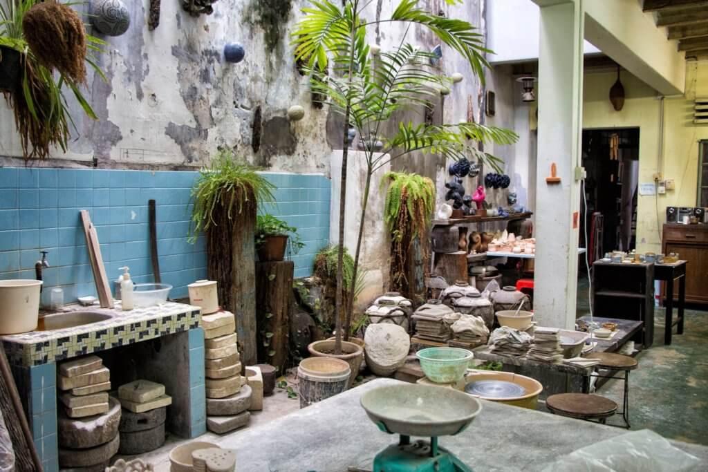 Pottery studio in Melaka/Malacca, Malaysia
