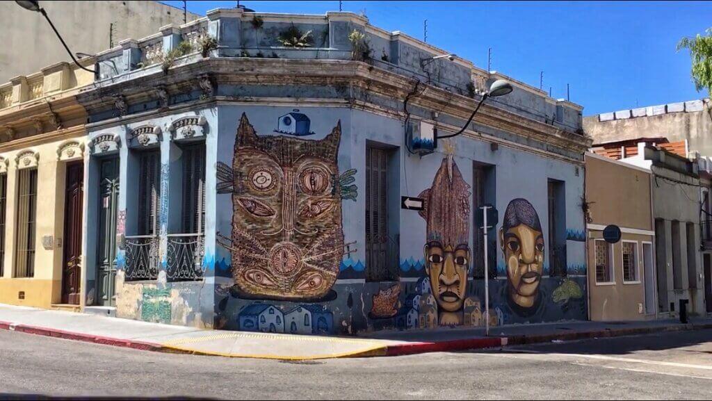 Street art in Montevideo
